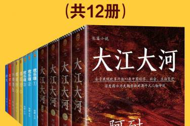 《大江大河》作者阿耐合集(共12册)pdf-epub-mobi-txt-azw3