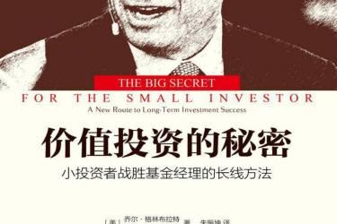价值投资的秘密 : 小投资者战胜基金经理的长线方法 乔尔·格林布拉特pdf-epub-mobi-txt-azw3